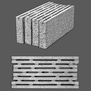 بلوک دیواری هشت جداره (توخالی)